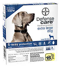 Bayer Defense Care Over 55 Lb Dog Flea & Tick Protection