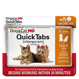 Oral flea control medication