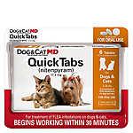 Dog & Cat MD™ Maximum Defense QuickTabs 2-25 Lb Flea Treatment