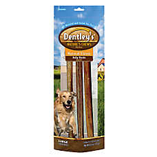 dentley 39 s bully stick dog treat dog chewy treats petsmart. Black Bedroom Furniture Sets. Home Design Ideas