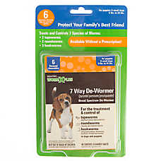 SENTRY® WORM X PLUS® 7 Way Broad Spectrum Dog De-Wormer - 6 Pack