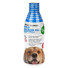 GNC Pets Ultra Mega Wild Salmon Oil Dog Formula