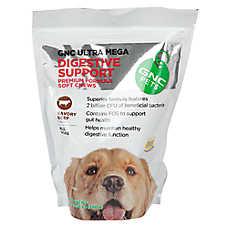 GNC Pets Ultra Mega Digestive Support Dog Chews