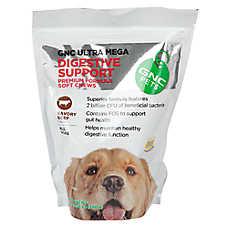 GNC Pets Ultra Mega Digestive Support Dog Chews