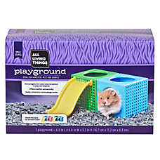 All Living Things® Playground Cube Small Pet Toy