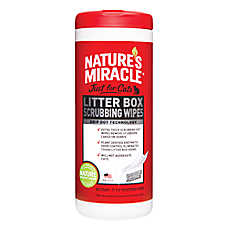 NATURE'S MIRACLE™Litter Box Wipes