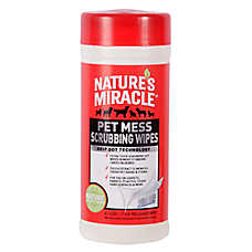 NATURE'S MIRACLE™ Pet Mess Scrubbing Wipes