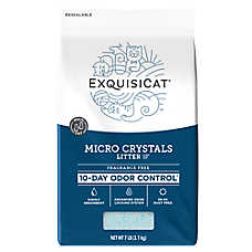 ExquisiCat® Micro Crystals Cat Litter