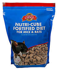 Grreat Choice® Nutri-Cube Fortified Mice & Rat Food