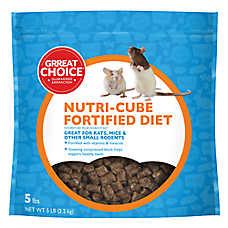 Grreat Choice® Nutri-Cube Fortified Mice & Rat Food