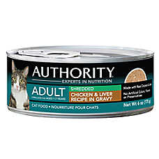 Authority® Shredded Adult Cat Food