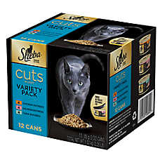 Sheba® Cuts Variety Pack Cat Food