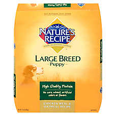 Nature's Recipe® Large Breed Puppy Food