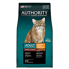 Authority® Hairball Control Adult Cat Food