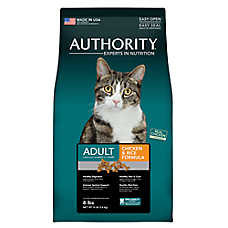 Authority® Adult Cat Food - Chicken & Rice