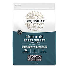ExquisiCat® Naturals Paper Cat Litter - Natural, Fragrance Free