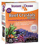 Instant Ocean Reef Crystals 25 Gallon Aquarium Salt