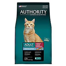 Authority® Sensitive Support Adult Cat Food - Turkey & Rice