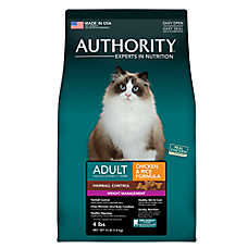 Authority® Hairball Control & Weight Management Adult Cat Food
