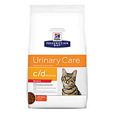 Hill's® Prescription Diet® c/d Multicare Urinary Care Stress Cat Food - Chicken