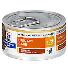 Hill's® Prescription Diet® c/d Multicare Urinary Care Cat Food - Vegetable, Tuna, & Rice Stew