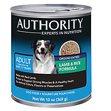 Authority® Ground Adult Dog Food