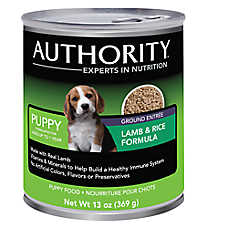Authority® Ground Entree Puppy Food