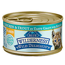 BLUE Wilderness ™ Wild Delights Flaked Kitten Food