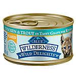 BLUE Wilderness ™ Wild Delights Flaked Kitten Food
