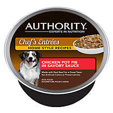 Authority® Chef's Entrees Dog Food