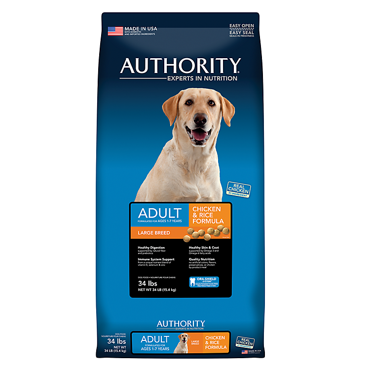 Authority® dog & cat food - online only