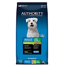 Authority® Small Breed Adult Dog Food - Lamb & Rice