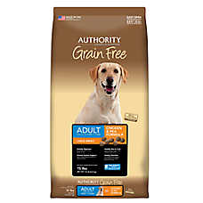 Authority® Large Breed Adult Dog Food - Chicken & Pea