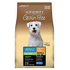 Authority® Small Breed Adult Dog Food - Grain Free, Chicken & Pea