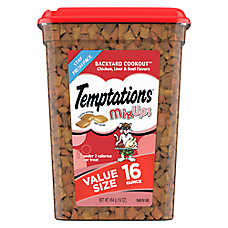 Tempations™ Mix Ups Backyard Cookout Cat Treat - Chicken, Liver & Beef