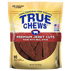 True Chews® Premium Jerky Cuts Dog Treat - Natural, Sirloin Steak