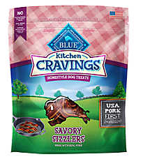 BLUE Kitchen Cravings™ Pork Sizzlers Dog Treat