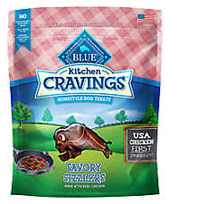 BLUE Kitchen Cravings™ Chicken Sizzlers Dog Treat