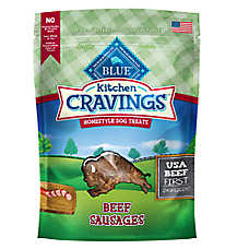BLUE Kitchen Cravings™ Beef Sausage Dog Treat