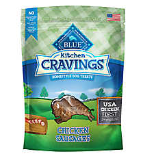 BLUE Kitchen Cravings™ Chicken Sausage Dog Treat