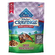 BLUE Kitchen Cravings™ Meatballs Dog Treat