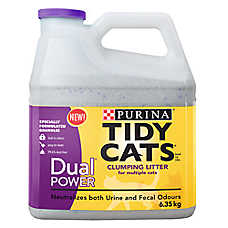 Purina® TIDY CATS® Dual Power Clumping Multi-Cat Litter