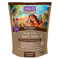 HALO® Spot's Stew® Dog Food - Natural, Grain Free, Pork, Peas & Potatoes