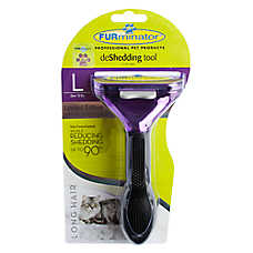 FURminator® deShedding Metallic Collection Long Hair Cat Tool