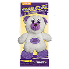 SENTRY® GOOD Behavior® Cuddlin' Companion Beadtime Bear Dog Toy