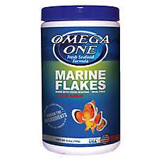 Omega™ One Garlic Marine Flake Fish Food