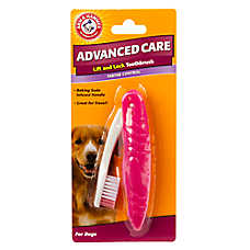 ARM & HAMMER™ Advanced Care Tartar Control Lift and Lock Dog Toothbrush