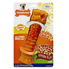 Nylabone® Flavor Frenzy Pepperoni Pizza Dog Toy