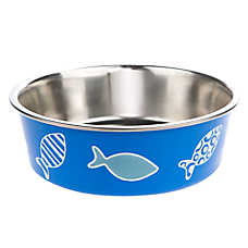 Whisker City™ Bella Fish Cat Bowl