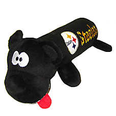 Pittsburgh Steelers NFL Tube Dog Toy